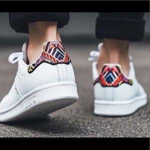 Adidas Originals Stan Smith X Farm Company Leather Sneakers
